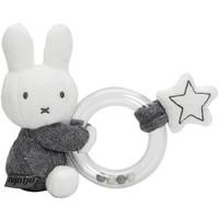Rammelaar Nijntje ring grijs gebreid