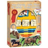Stempelset paarden: 12-delig