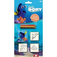 Stempelset Finding Dory: 7-delig