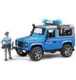 Bruder Land Rover Defender Politie met politieman Bruder