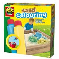 Zand kleuren SES: blauw/geel