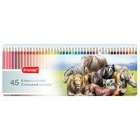 Kleurpotloden Bruynzeel wilde dieren: 45 stuks