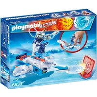 Icebot met disc-shooter Playmobil