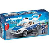 Politiepatrouille met licht en geluid Playmobil