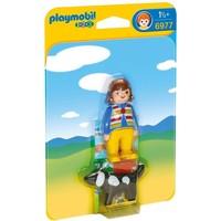 Vrouw met hond Playmobil