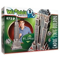 Puzzel Wrebbit Empire State Building 3d: 975 stukjes