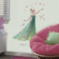 Frozen Muursticker Frozen Fever Roommates: Elsa 45x101 cm