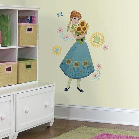 Frozen Muursticker Frozen Fever Roommates: Anna 45x101 cm