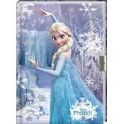 Dagboek met slot Frozen