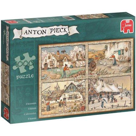 Anton Pieck Puzzel Anton Pieck: 4 Seizoenen 1000 stukjes