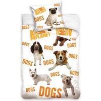Dekbed Animal Planet honden