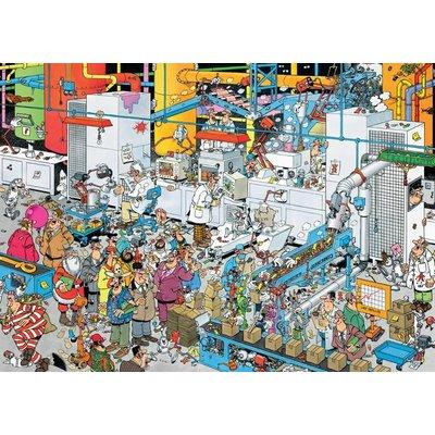 Jan van Haasteren Puzzel JvH: Snoepfabriek 500 stukjes