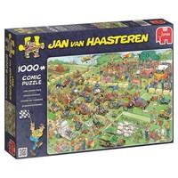 Puzzel JvH: Grasmaaierrace 1000 stukjes