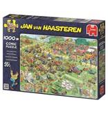 Jan van Haasteren Puzzel JvH: Grasmaaierrace 1000 stukjes