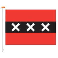 Vlag Amsterdam reus 150x200 cm