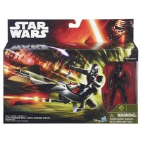 Action vehicle + fig Star Wars: Speeder Bike