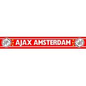 Sjaal ajax rood witte letters