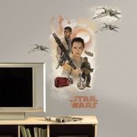 Muursticker Star Wars VII: Hero