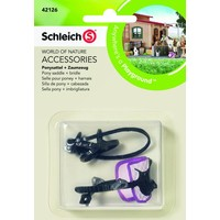 Pony zadel + teugel Schleich 42126