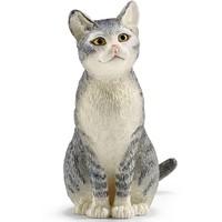 Schleich Kat zittend 13771