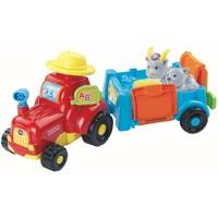 Zoef Zoef dieren Vtech: tractor en kar 12+ mnd