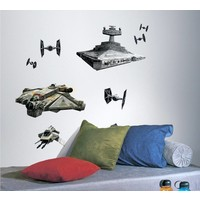 Muursticker Star Wars Roommates: 45x101 cm