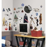 Muursticker Star Wars Roommates: 25x45 cm