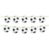 Vlaggenlijn Soccer Party: 10 meter