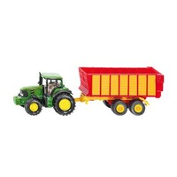John Deere with Silage Trailer SIKU