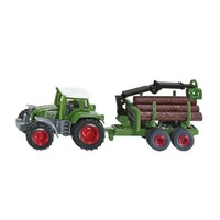 Tractor with Forestry Trailer SIKU