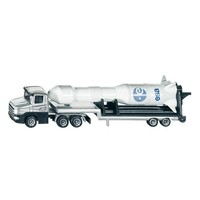 Low Loader with Rocket SIKU