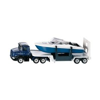 Low Loader with Boat SIKU