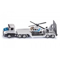 Scania vrachtwagen met helikopter SIKU