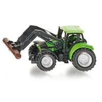 Tractor met Boom Grijper Siku