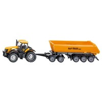 Tractor with Dolly and Tipping-Trailer SIKU