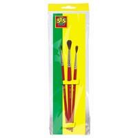 Penselenset SES 3-pack penseel nr. 2 en 4 en 6