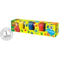 Vingerverf in trendy kleuren SES 4x150 ml