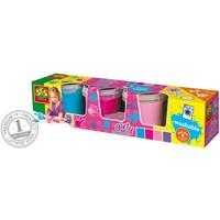 Vingerverf in girly kleuren SES 4x150 ml