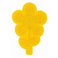 Strijkkralen bord SES bloem
