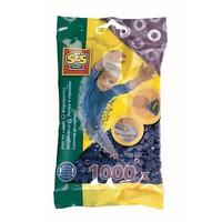 Strijkkralen SES 1000 stuks donkerblauw