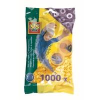 Strijkkralen SES 1000 stuks geel