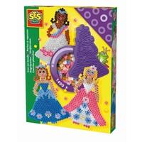 Strijkkralenset SES 1400 stuks prinses
