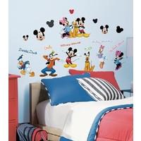 Muursticker Mickey Mouse Roommates: 25x45 cm