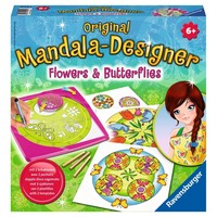 Flowers & Butterflies 2 in 1 Mandala Designer