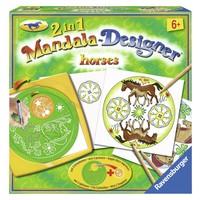 Horses 2 in 1 Mandala Designer