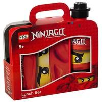 Lunchset Lego Ninjago: rood