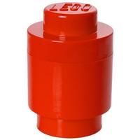 Opbergbox LEGO round 1 rood