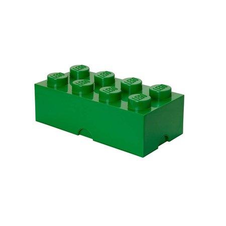 LEGO License LEGO Opbergbox: mini brick 8 licht groen