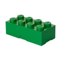 Lunchbox LEGO brick 8 groen