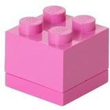Opbergbox LEGO MINI brick 4 roze